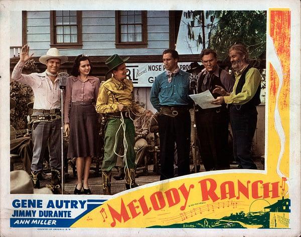 Gene Autry's Melody Ranch film lobby card