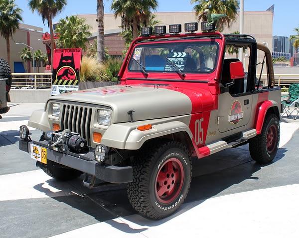 Jurassic Park Jeep 1