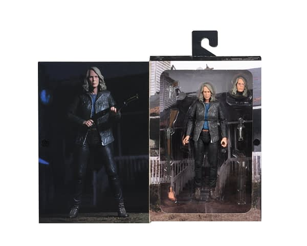 NECA Shows Off Packaged Photos for Halloween Laurie Strode Figure