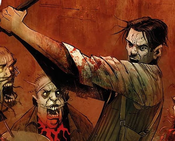 Evil Within: Interlude variant cover by Damian Worm