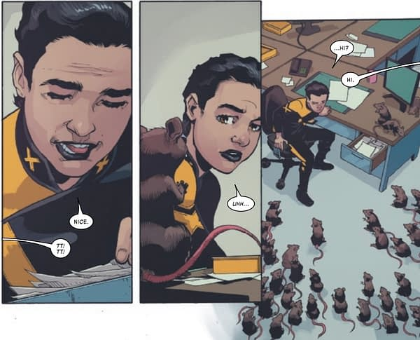 Marvel's Newest Mutant Has the Powers of a Rat Queen - X-Tremists #5 Preview