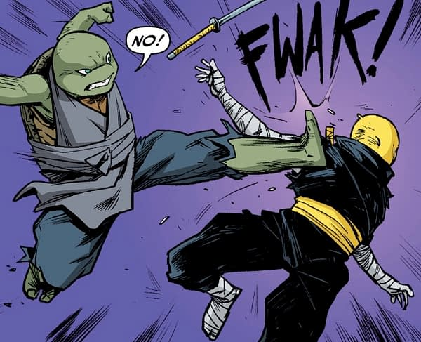 New Female Turtle Jennika Finally Dons Her Mask in TMNT #97