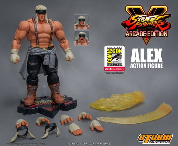 Storm Collectibles Street Fighter Alex variant 1