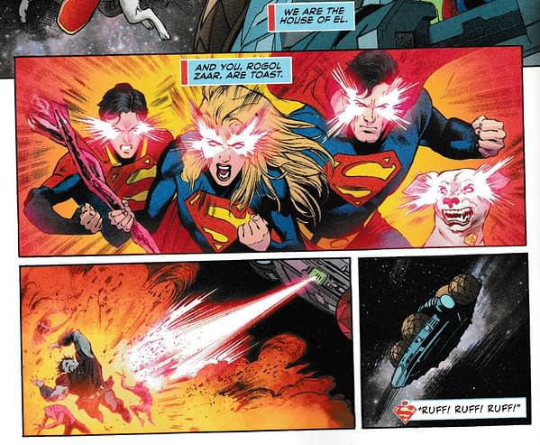 Superman #31 and Supergirl #12 Tell the Same Story... Almost