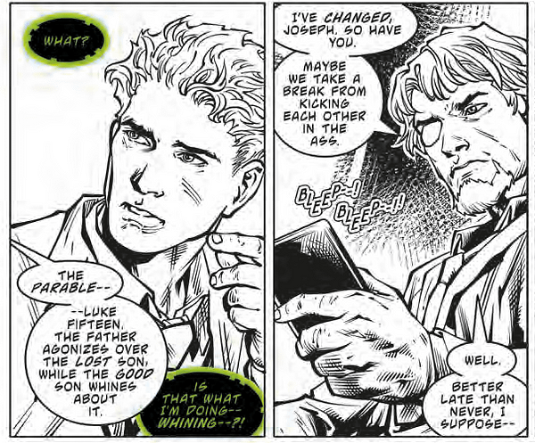 The Gospel of Slade: Deathstroke preaches to his son