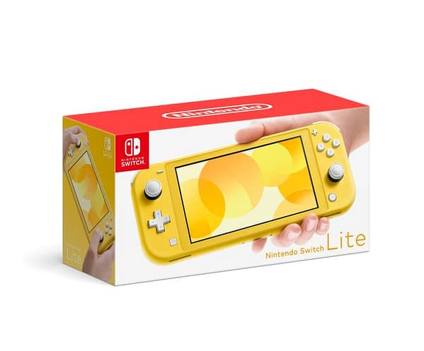 Nintendo Reveals The Nintendo Switch Lite Ahead Of SDCC