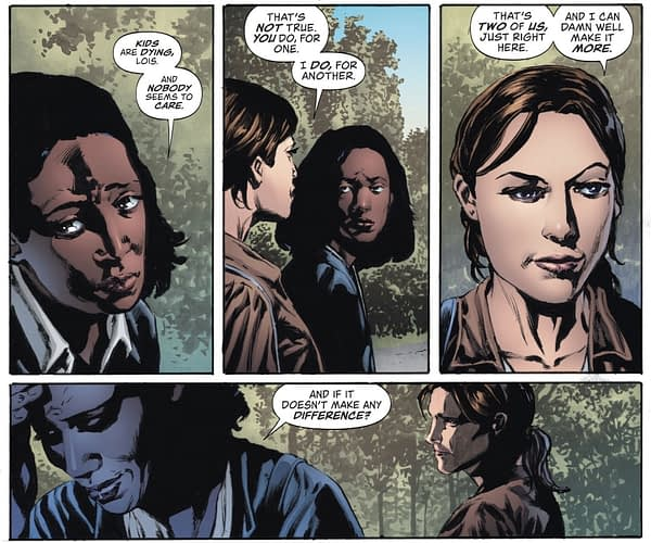 Now Lois Protects a White House Whistleblower in Lois Lane #5 [Spoilers]