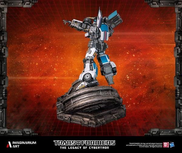 Transformers Autobot Jazz Statue 4