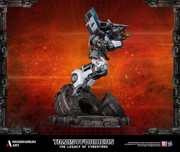 Transformers Autobot Jazz Statue 5