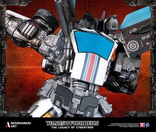 Transformers Autobot Jazz Statue 9