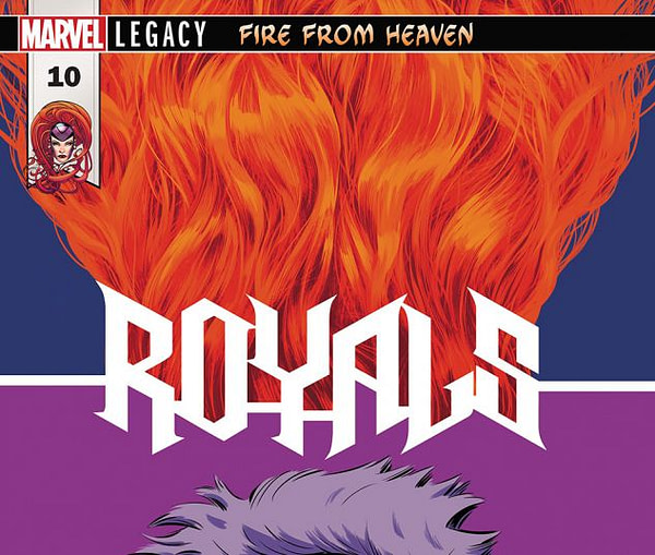 Royals #10 cover by Javier Rodriguez