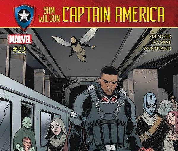 Sam Wilson: Captain America #22