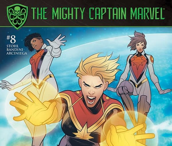The Mighty Captain Marvel #8 Cover