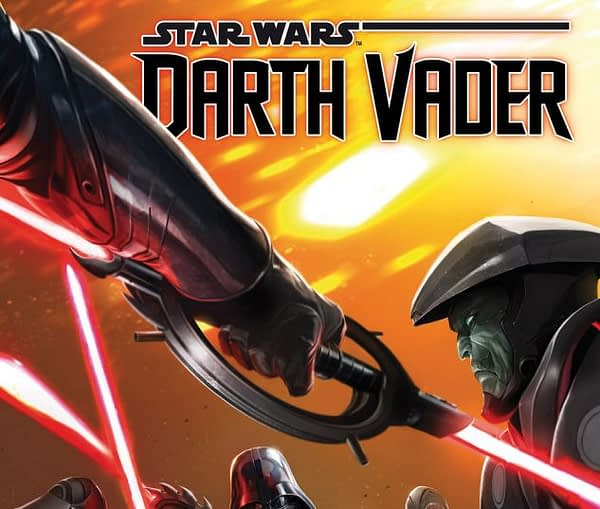 Darth Vader #7 cover by Giuseppe Camuncoli and Francesco Mattina