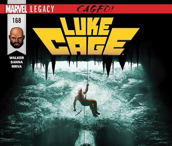 Luke Cage #168 cover by Rahzzah