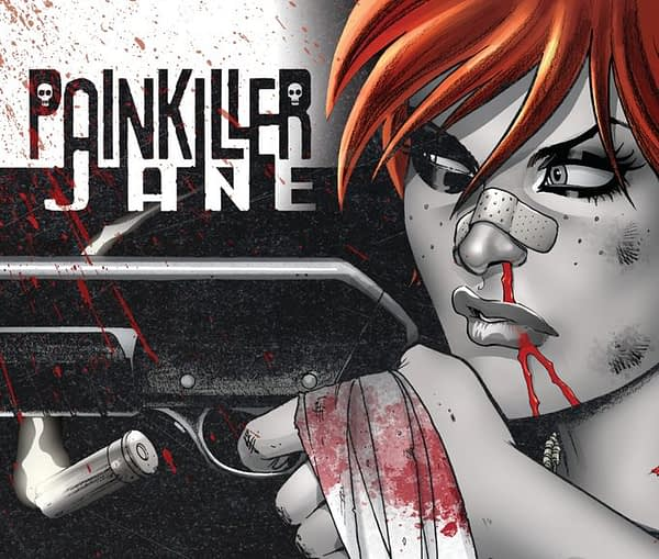 Jimmy Palmiotti to Publish Marvel/DC Crossover, Painkiller Jane With The Monolith