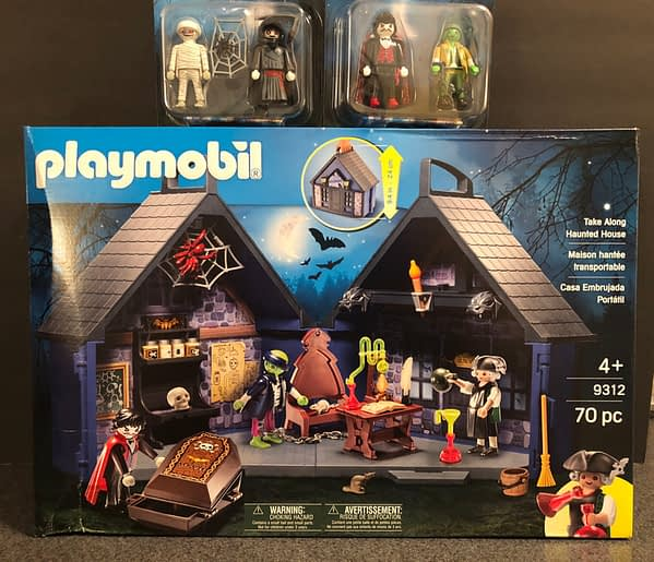 Playmobil Take Along Haunted House 1