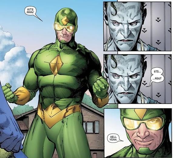 Did Tom King Just Kill Off Kite-Man in Batman #84? Hell Yeah…. (Spoilers)