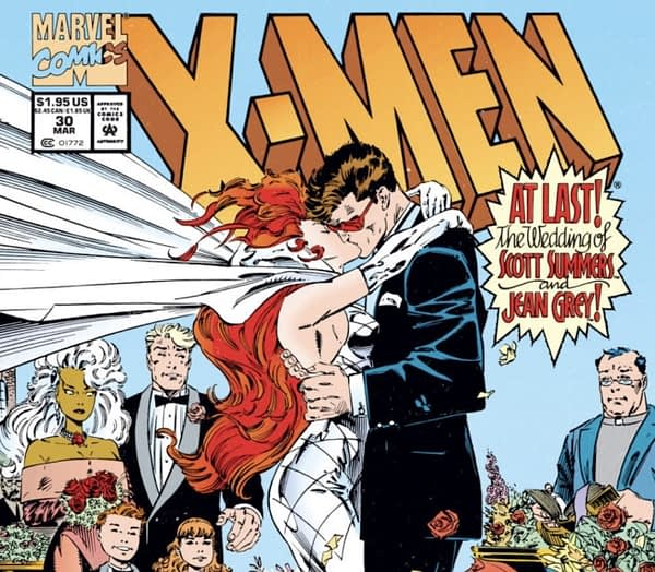 Wedding of Scott Summers and Jean Grey