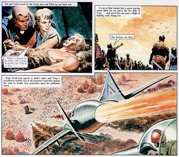 The Trigan Empire to Be a TV Show