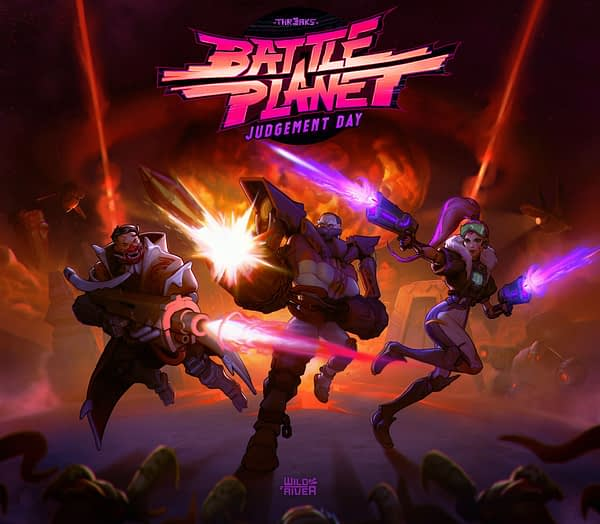 "Composer Garry Schyman To Score ""Battle Planet - Judgement Day"""