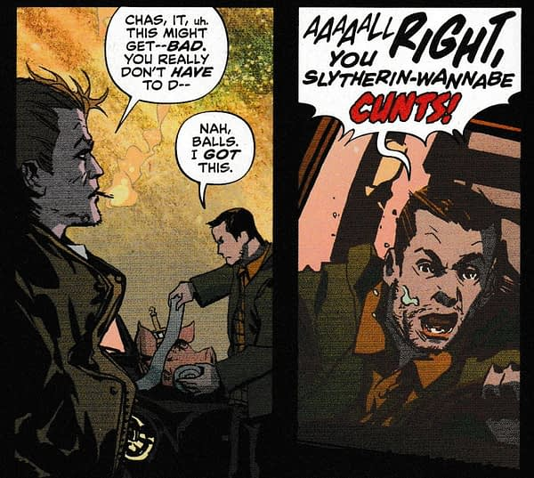 A New Swear Word For DC Comics in Today's Sandman Presents: Hellblazer