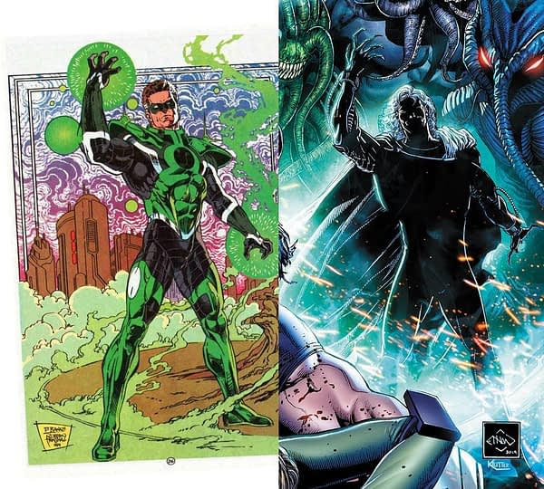Separated At Birth: Ethan Van Sciver on Jawbreakers and Daryl Banks on Green Lantern