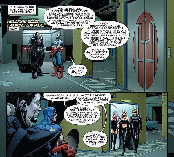 Another Fake Captain America? Uncanny X-Men #20 Revives Memories of Secret Empire
