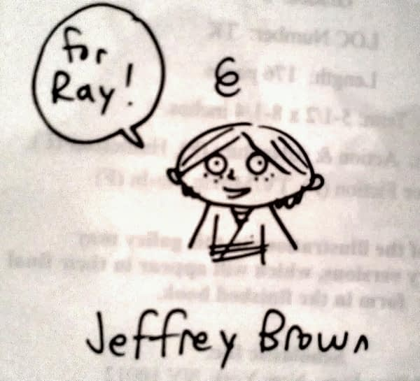 JEFFREY BROWN SKETCH