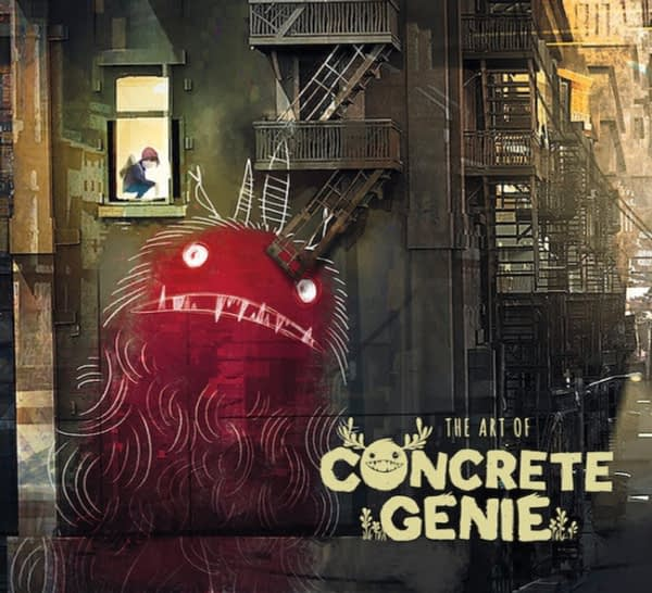 Dark Horse to Publish a Concrete Genie Art Book