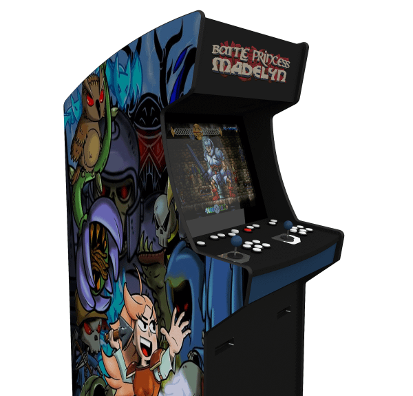 Battle Princess Madelyn Arcade Cabinet