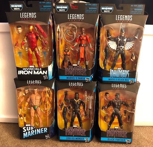 Black Panther Marvel Legends 1