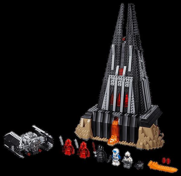 LEGO Star Wars Darth Vader's Castle 6