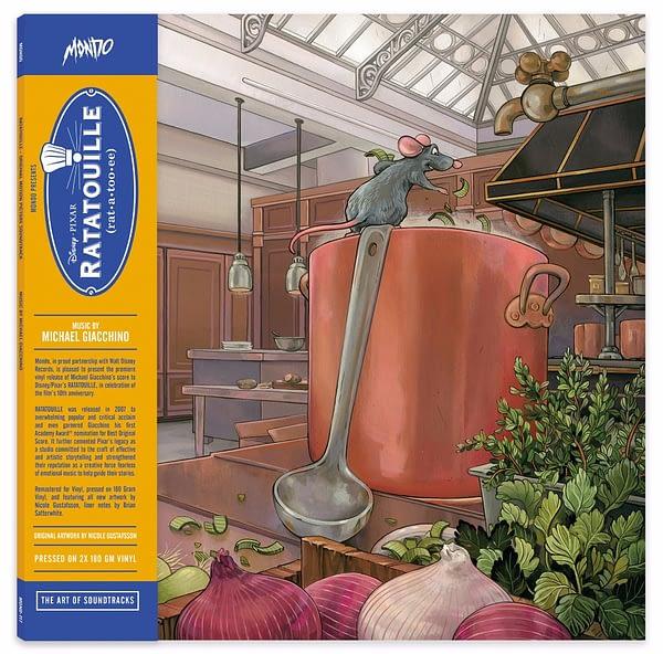 Mondo Ratatouille Soundtrack Vinyl 2