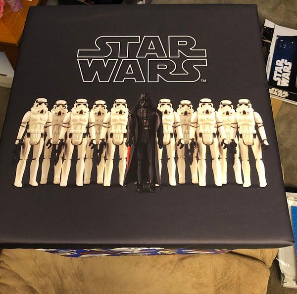 Star Wars Walmart Ottoman 4