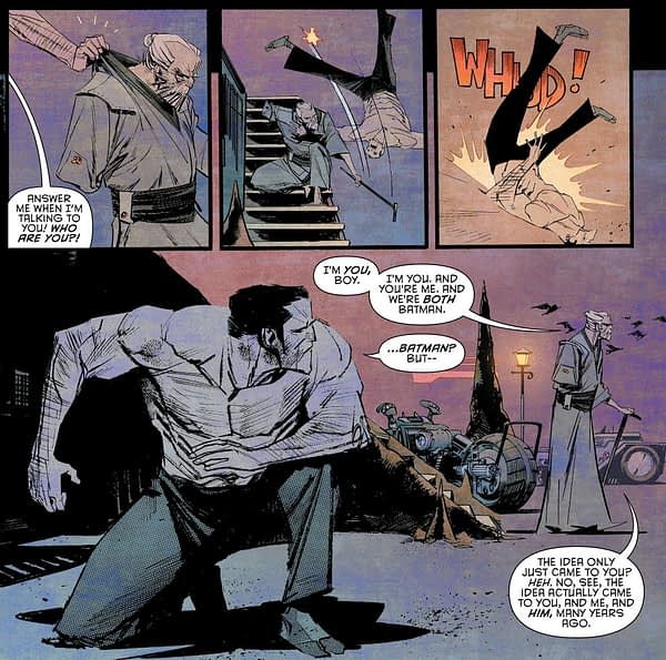 How Scott Snyder Has Been Preparing For Batman: Last Knight