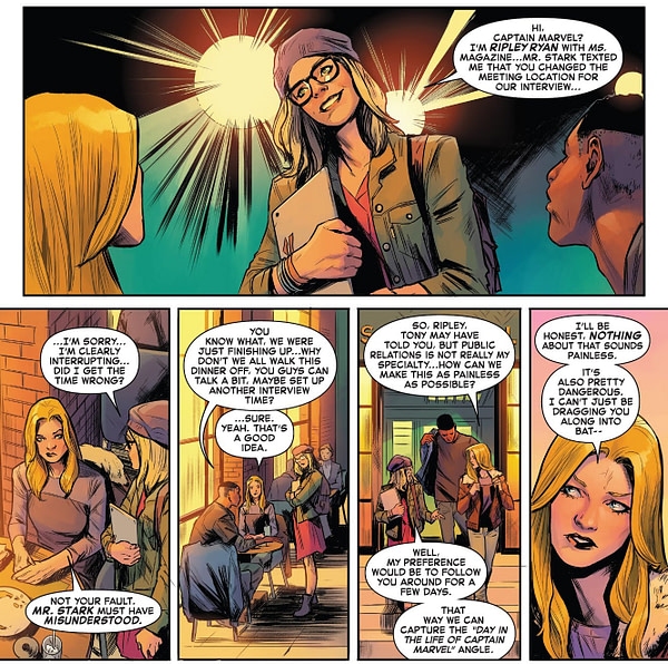 Captain Marvel #9 Sells Out Ahead of Going On-Sale Over New Character, Star