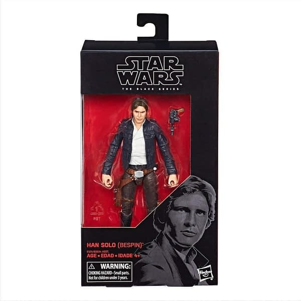 Star Wars Black Series Bespin Han Carded