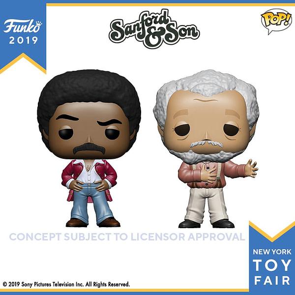 Funko New York Toy Fair Sanford and Son