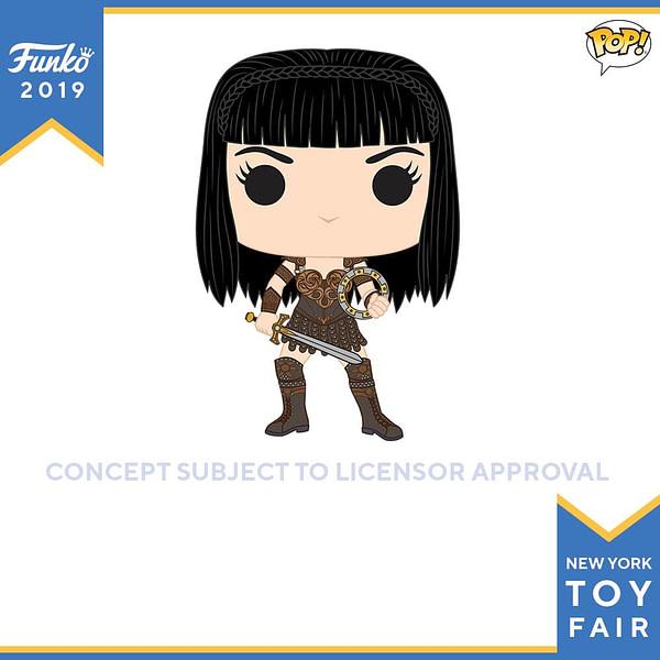 unko New York Toy Fair Xena