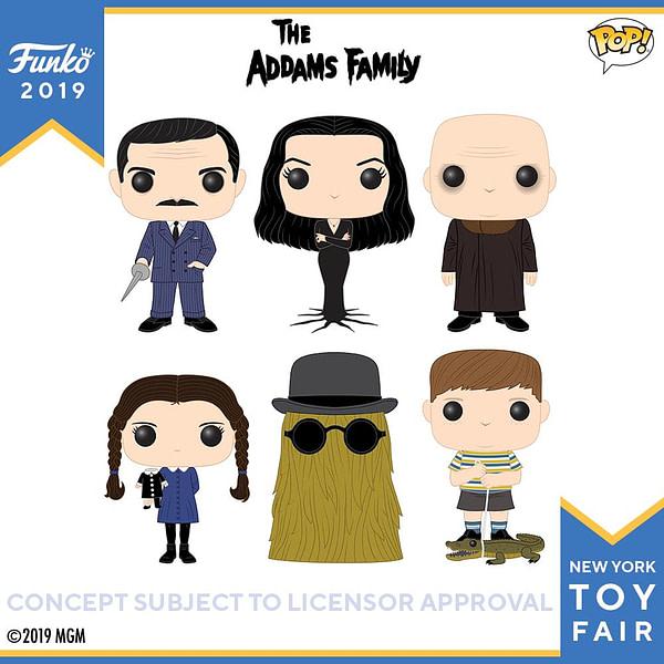 Funko New York Toy Fir The Adams Family