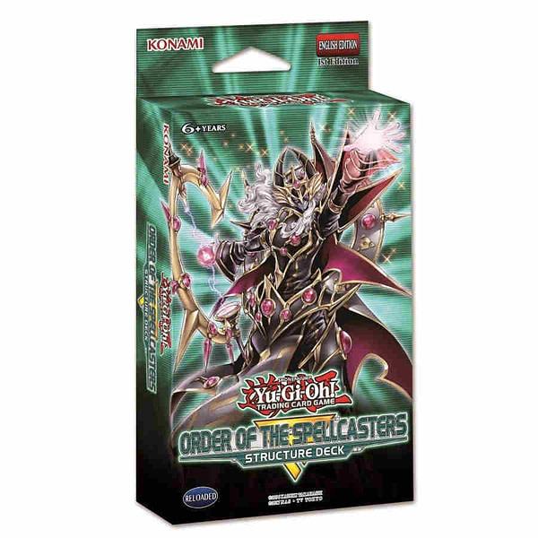 Konami Shows More Yu-Gi-Oh! TCG Materials For April Decks