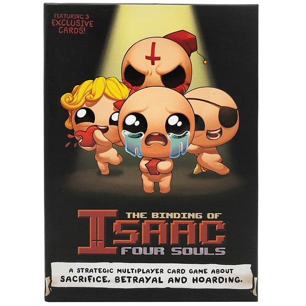 """""""The Binding Of Isaac: Four Souls"""" Now Being Sold At Target"""
