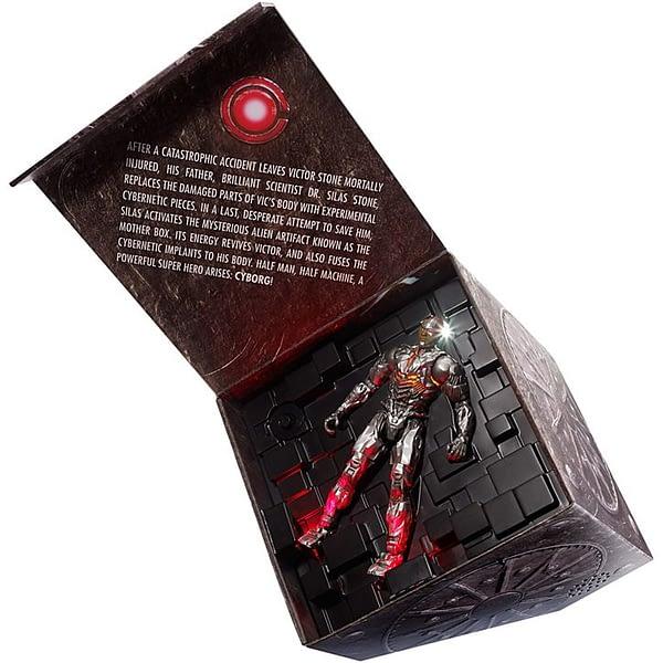 Mattel Justice League SDCC Cyborg