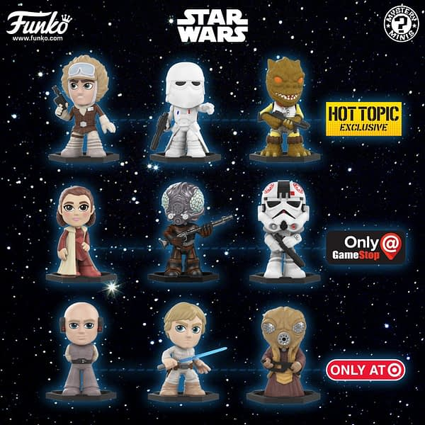 Funko Star Wars Empire Strikes Back Mystery Minis 2