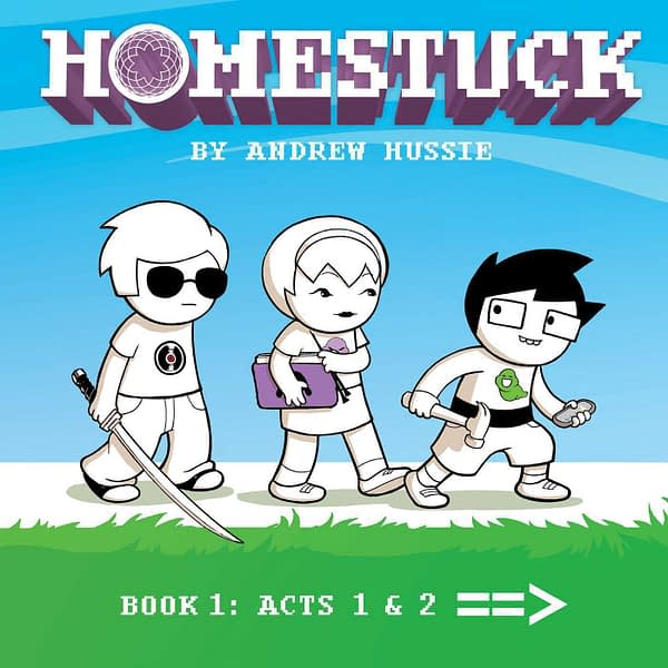 Homestuck Book 1 cover by Adrienne Garcia