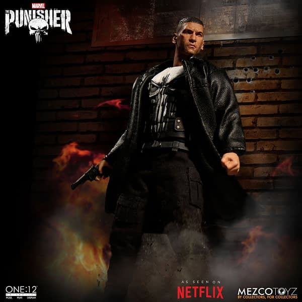 One 12 Collective Netflix Punisher Figure