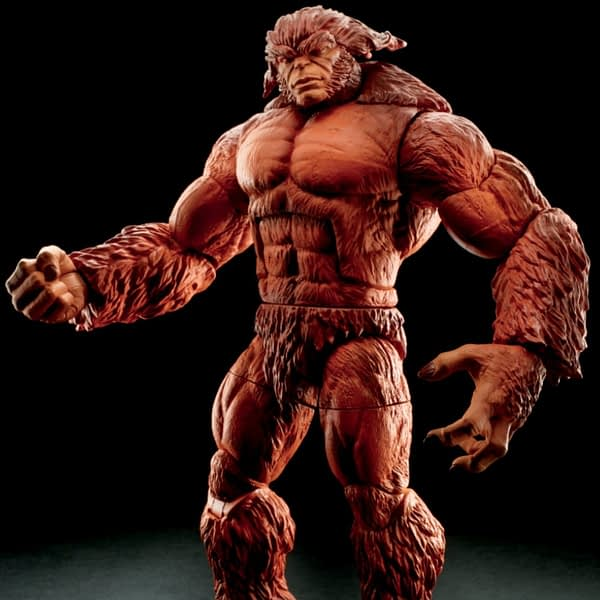 Sasquatch Build A Figure Marvel Legends