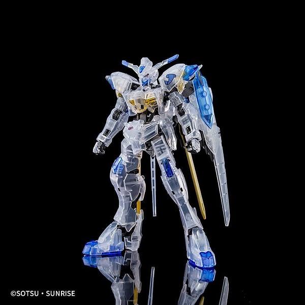 Bandai Gundam Bael (Clear Color) SDCC