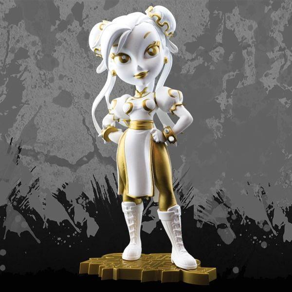 Cryptozoic Golden Goddess Chun-Li Street Fighter Knockouts Vinyl Figure